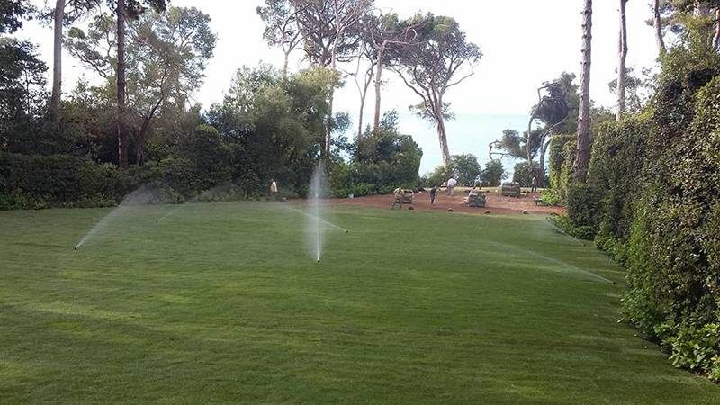 Novogreen lawns the French Riviera | Natural grass